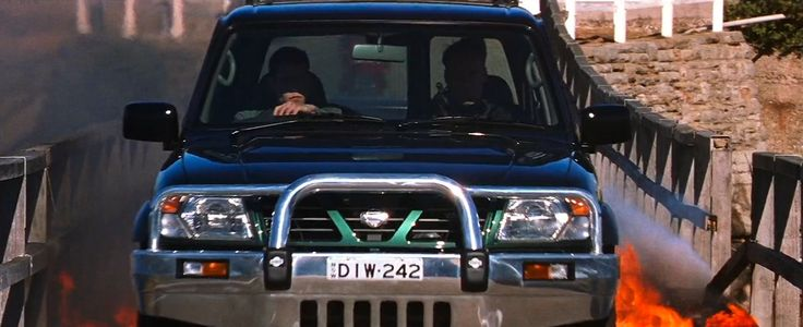 Nissan Patrol SUV in MISSION: IMPOSSIBLE II (2000) - Movie Product Placement