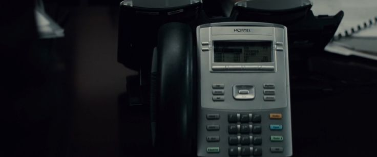 Nortel telephone in BATMAN V SUPERMAN: DAWN OF JUSTICE (2016) Movie Product Placement