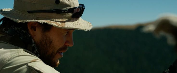 Oakley Flat Jacket XLJ sunglasses worn by Taylor Kitsch in LONE SURVIVOR (2013) Movie Product Placement