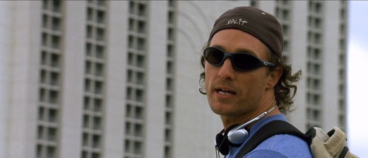 Oakley sunglasses worn by Matthew McConaughey in TWO FOR THE MONEY (2005) Movie Product Placement
