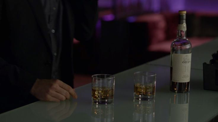 Oban whiskey in POWER: I GOTTA GO (2014) TV Show Product Placement