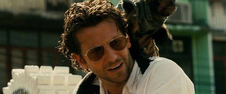 Oliver Peoples Benedict sunglasses worn by Bradley Cooper in THE HANGOVER PART II (2011) - Movie Product Placement