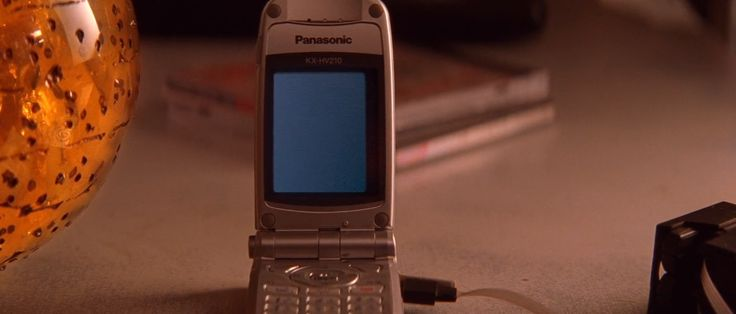 Panasonic mobile phone in Lara Croft Tomb Raider: The Cradle of Life (2003) Movie Product Placement