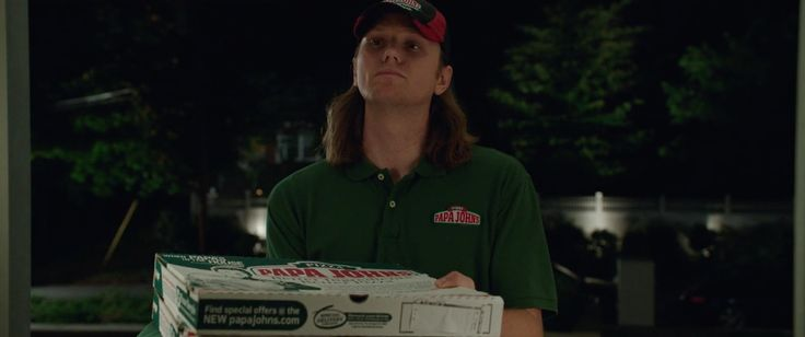 Papa John's pizza - Million Dollar Arm (2014) Movie Product Placement