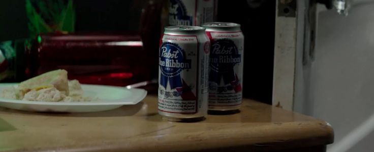 Pabst Blue Ribbon beer in NEIGHBORS (2014) Movie Product Placement