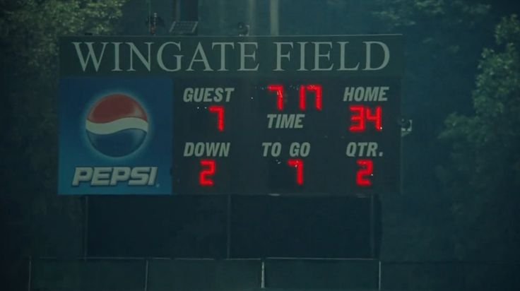 Pepsi scoreboard - The Blind Side (2009) Movie Product Placement