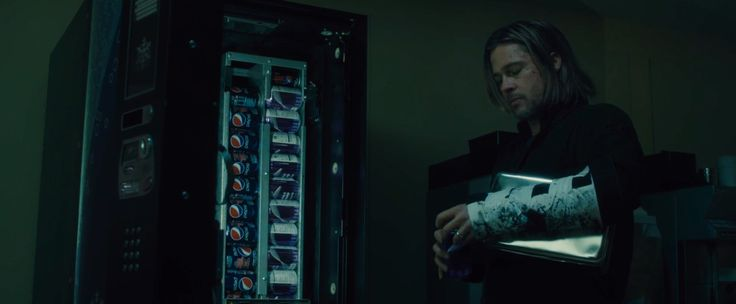 Pepsi vending machine - World War Z (2013) Movie Product Placement