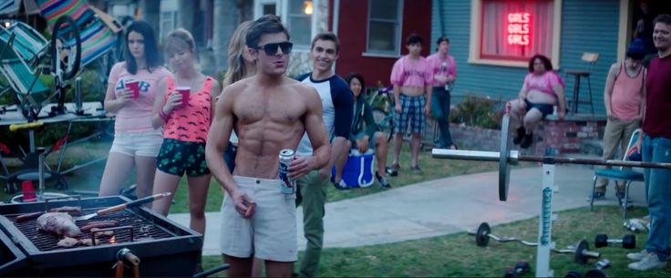 Persol Sunglasses And Pabst Blue Ribbon Beer  - Neighbors (2014) Movie Product Placement