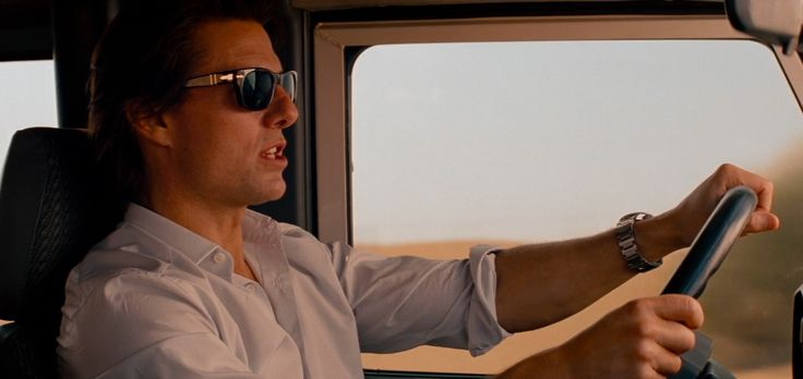 Persol Men's Sunglasses - Mission: Impossible - Ghost Protocol (2011) Movie Product Placement