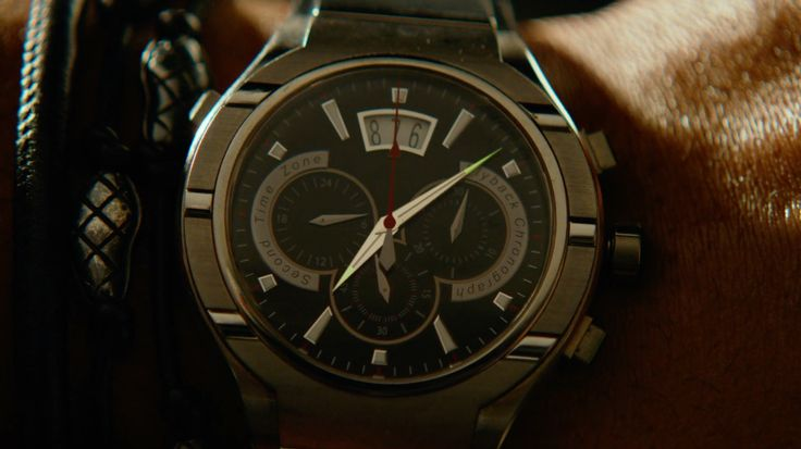 Piaget Polo FortyFive Watches - Focus (2015) Movie Product Placement