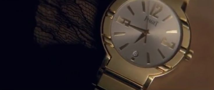Piaget watch - Rihanna - Take A Bow - Official Music Video Product Placement