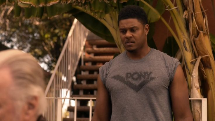 Pony tank top worn by Pooch Hall  in RAY DONOVAN: SWING VOTE (2015) TV Show Product Placement