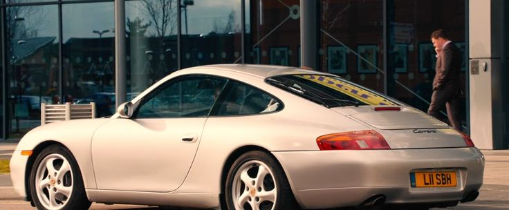 Porsche 911 Carrera [996] driven by Will Poulter in PLASTIC (2014) Movie Product Placement