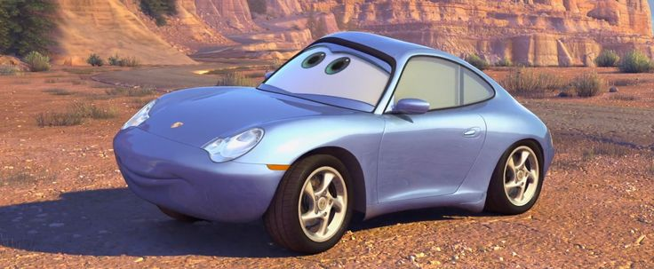 Porsche 911 Carrera [996] car in CARS (2006) Animation Movie Product Placement