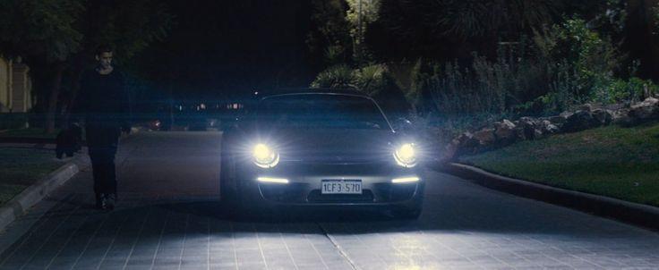 Porsche 911 Carrera Cabrio [991] car in Son of a Gun (2014) - Movie Product Placement