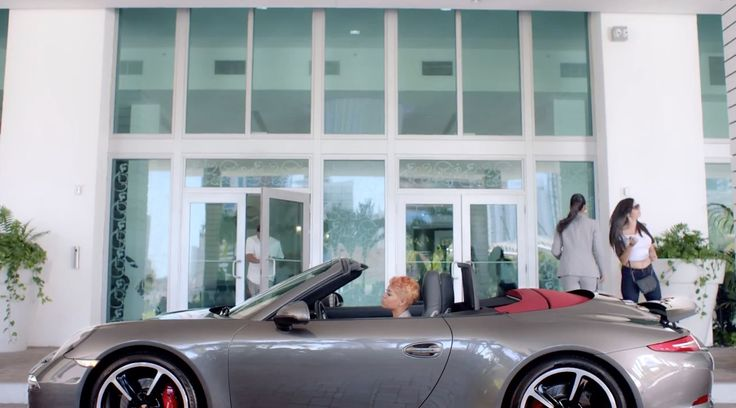 Porsche 911 Carrera Cabrio [991] car in SLOW MOTION by Trey Songz (2015) Official Music Video Product Placement