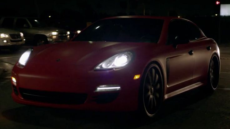 Porsche Panamera [970] in WHO DO YOU LOVE by YG (2014) Official Music Video Product Placement