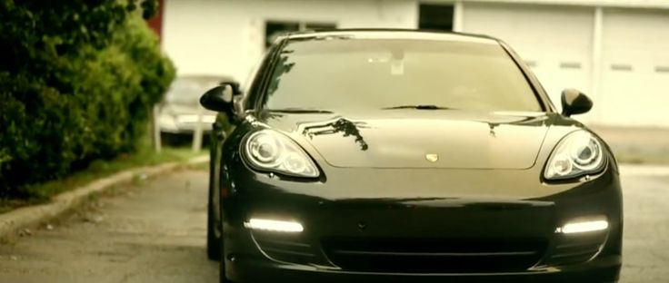 Porsche Panamera S [970] in MY NIGGA by YG (2013) Official Music Video Product Placement