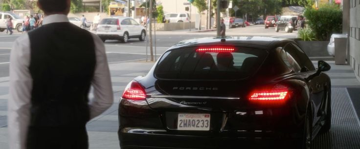 Porsche Panamera Turbo S [970] (2012) car driven by Morris Chestnut in Think Like a Man (2012) Movie