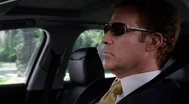 Prada sunglasses worn by Will Ferrell in GET HARD (2015) - Movie Product Placement