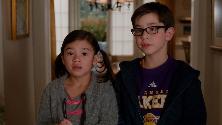 Ralph Lauren glasses and Adidas x Los Angeles Lakers t-shirt worn by Owen Vaccaro in DADDY'S HOME (2015) Movie Product Placement