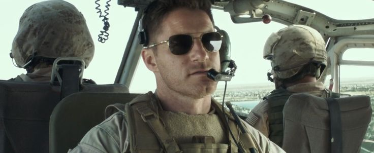 Randolph Engineering Aviator sunglasses in AMERICAN SNIPER (2014) Movie Product Placement