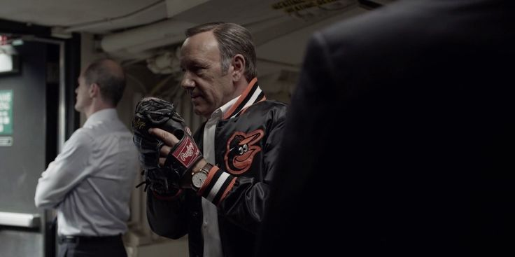 Rawlings, Baltimore Orioles and IWC - House of Cards - TV Show Product Placement