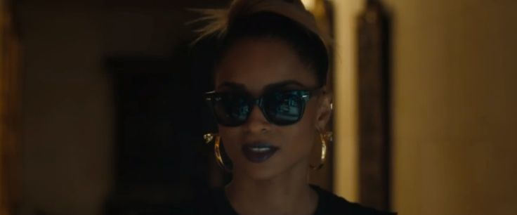 Ray-Ban Wayfarer sunglasses worn by Ciara in BODY PARTY (2013) Official Music Video Product Placement