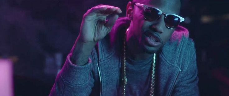 Ray-Ban Aluminium Clubmaster sunglasses in GET YA MONEY by August Alsina (2014) Official Music Video Product Placement