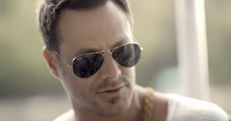 Ray-Ban Aviator sunglasses in PONTOON by Little Big Town (2012) Official Music Video Product Placement