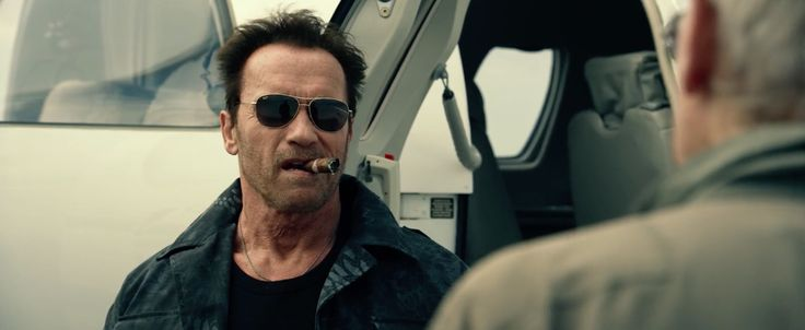 Ray-Ban sunglasses worn by Arnold Schwarzenegger in The Expendables 3 (2014) Movie Product Placement