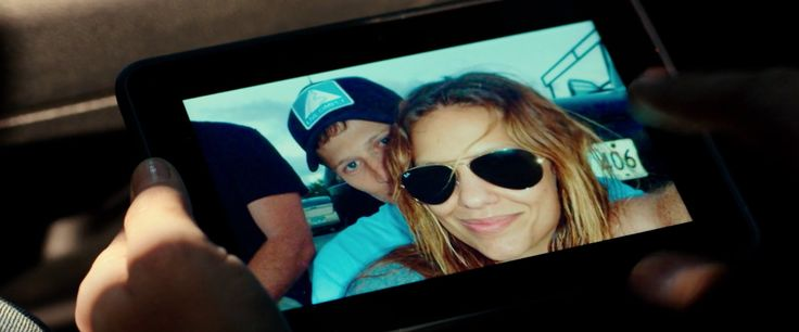 Ray Ban sunglasses worn by Kiele Sanchez in THE PURGE: ANARCHY (2014) Movie Product Placement