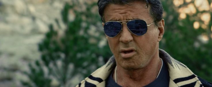 Ray Ban sunglasses worn by Sylvester Stallone in The Expendables 3 (2014) Movie Product Placement