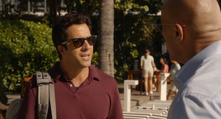 Ray-Ban sunglasses worn by Troy Garity in BALLERS: RAISE UP (2015) TV Show Product Placement