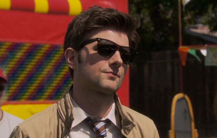 Ray-Ban sunglasses - PARKS AND RECREATION: FREDDY SPAGHETTI (2010) TV Show Product Placement