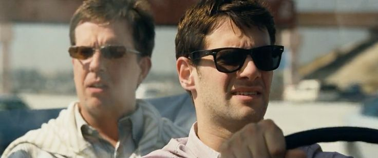 Ray Ban Wayfarer sunglasses worn by Justin Bartha in The Hangover (2009) Movie Product Placement