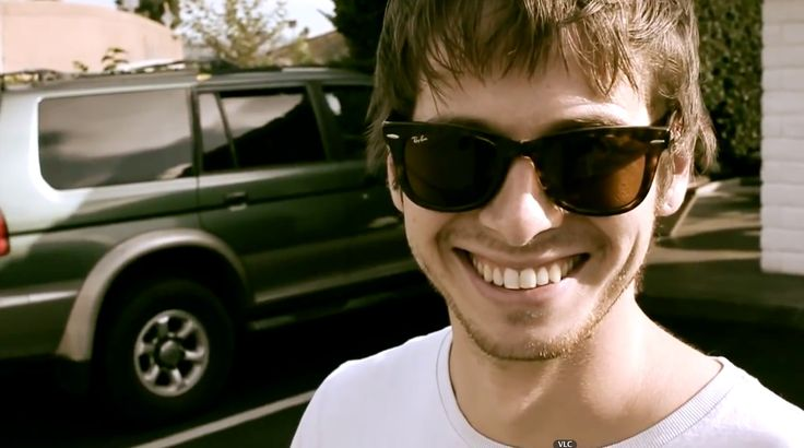 Ray-Ban Wayfarer sunglasses worn by Mark Foster in PUMPED UP KICKS by Foster the People (2010) Official Music Video Product Placement
