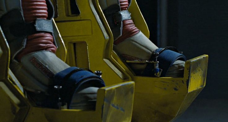 Reebok Alien Stomper shoes worn by Sigourney Weaver in ALIENS (1986) Movie Product Placement