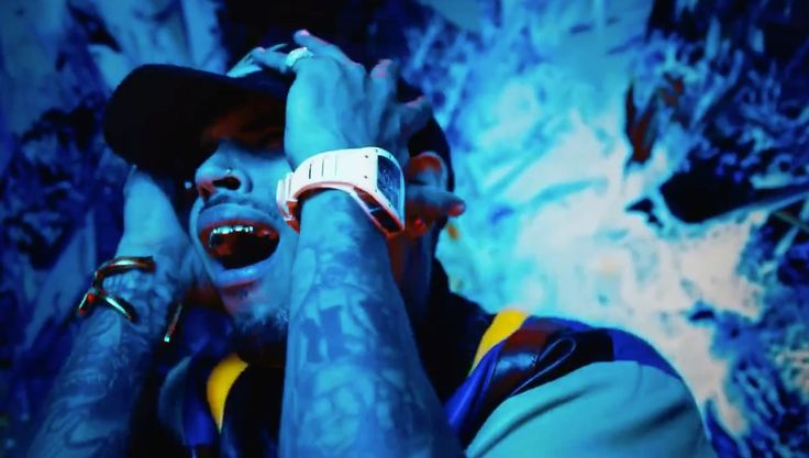 Richard Mille Watches - Chris Brown & Tyga – Bitches N Marijuana Lyrics Official Music Video Product Placement