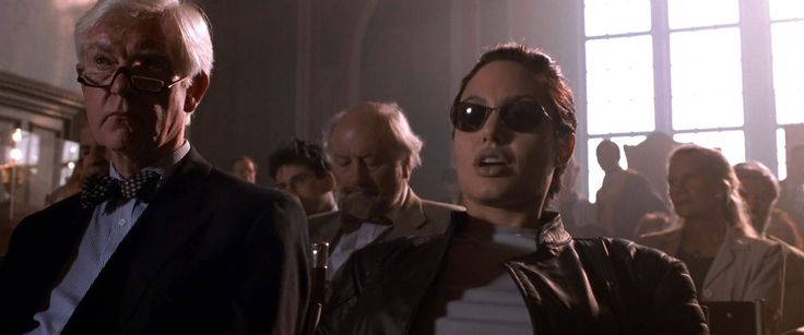 Richard Walker sunglasses worn by Angelina Jolie in LARA CROFT: TOMB RAIDER (2001) Movie Product Placement