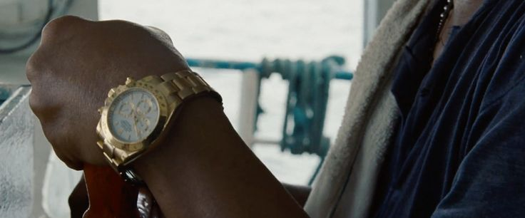 Rolex Daytona watch - The Bourne Legacy (2012) Movie Product Placement