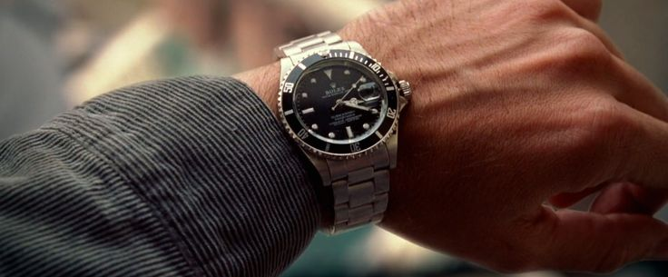 Rolex Submariner Watch - NATIONAL TREASURE (2004) Movie Product Placement