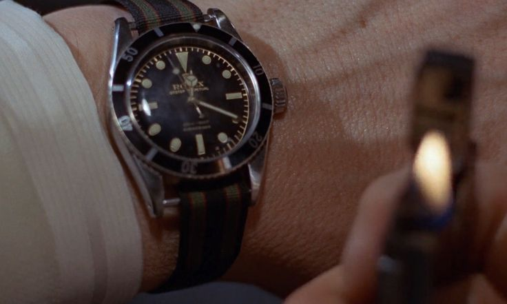 Rolex Submariner Watches - Goldfinger (1964) Movie Product Placement