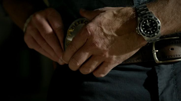 "Rolex Submariner Watches - ""Bosch"" Chapter Ten: Us and Them TV Show Product Placement"