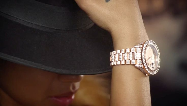 Rolex Watches - Keyshia Cole - Party Ain't A Party ft. Gavyn Rhone Official Music Video Product Placement