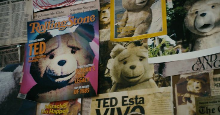 Rolling Stone magazine cover in TED (2012) Movie Product Placement