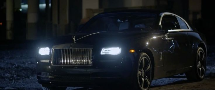 Rolls-Royce Wraith car in THE DEVIL IS A LIE by Rick Ross (2014) Official Music Video Product Placement