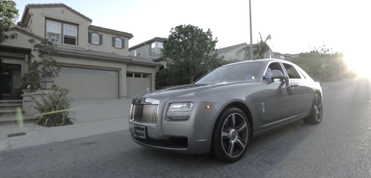 Rolls-Royce Ghost car in SPEND IT ALL by Soulja Boy (2015) Official Music Video Product Placement