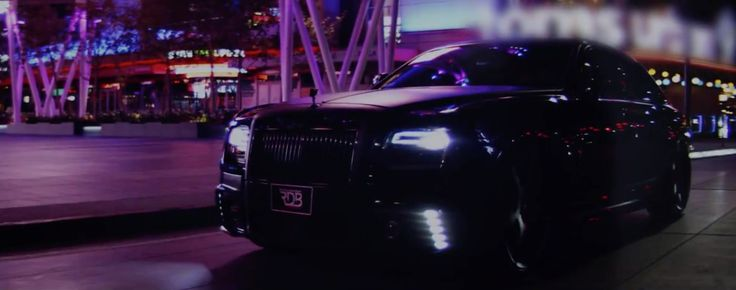Rolls-Royce Ghost in HOLY GHOST by Young Jeezy (2014) Official Music Video Product Placement