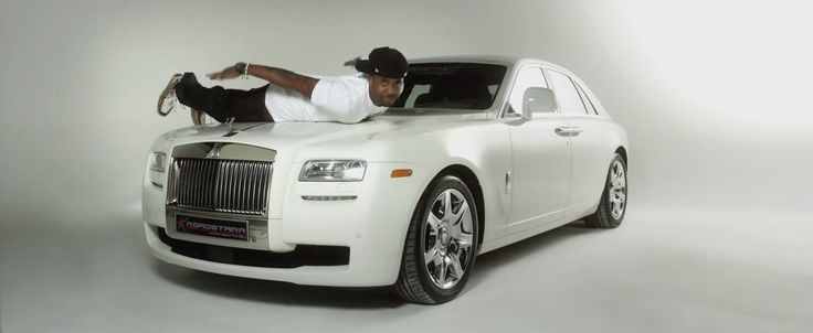 Rolls-Royce Ghost in STUPID HOE by Nicki Minaj (2012) Official Music Video Product Placement